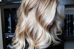 Hair trend: Vanilla Blonde Balayage