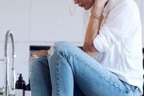 Déze super simpele look laat jou er uit zien als een ware Franse fashionista