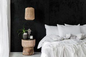 De aller mooiste interieurs met een zwarte muur!