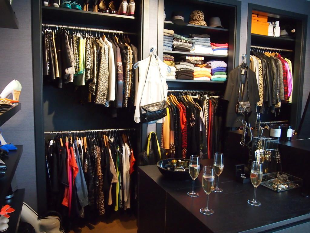 Een exclusief kijkje in Candy's closet!!
