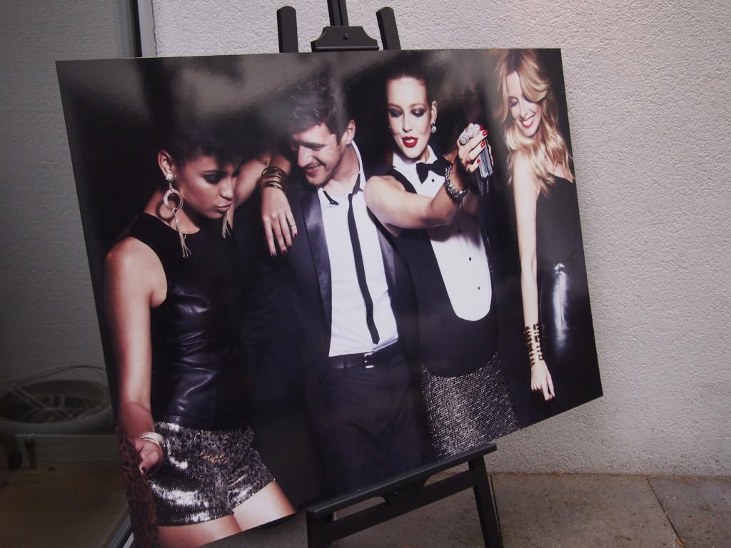 De prachtige reclame -pic van de nieuwe MEXX collectie by Candy Dulfer