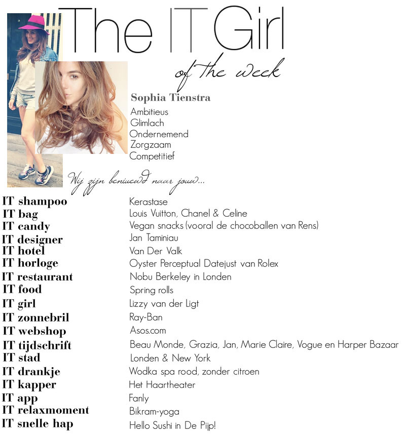 It Girl Of The Week