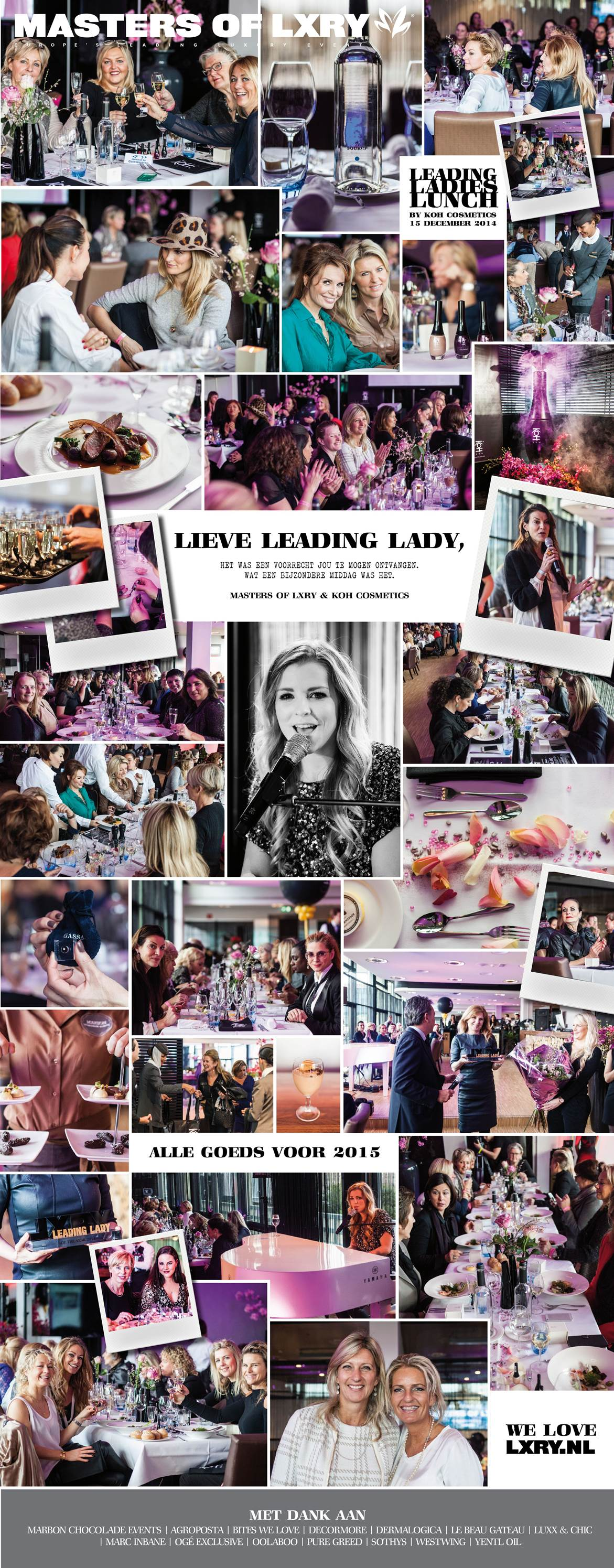 Leading Ladies LXRY lunch