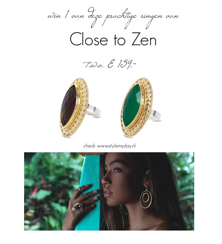 Win een prachtige Close to Zen ring