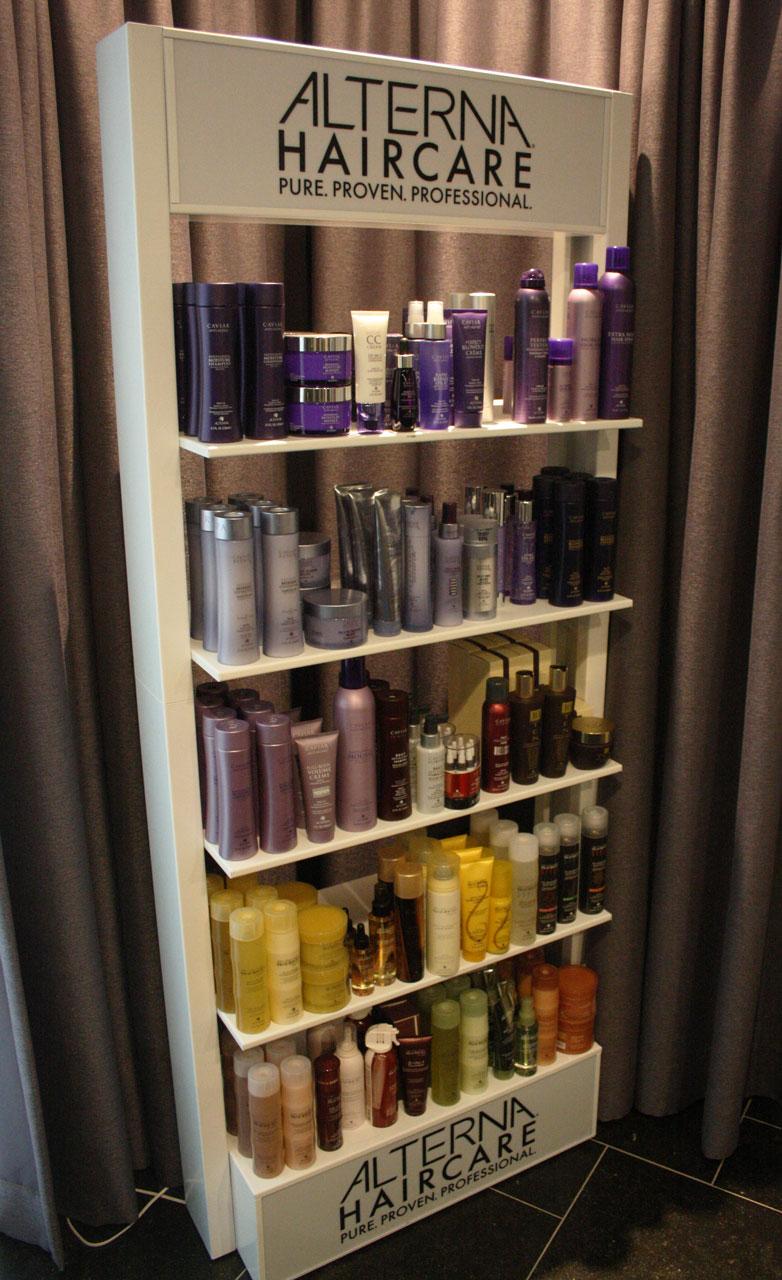 Pop-up salon Alterna Haircare