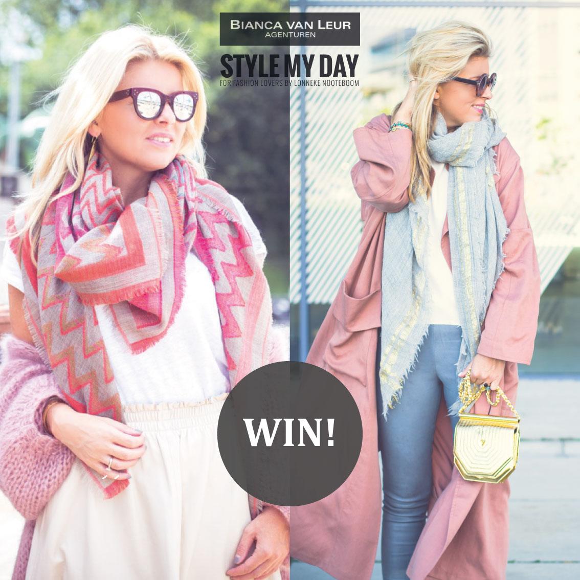 Give a way: 10x Bianca van Leur sjaals