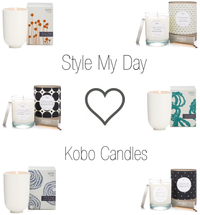 STYLE MY DAY LOVES KOBO CANDLES