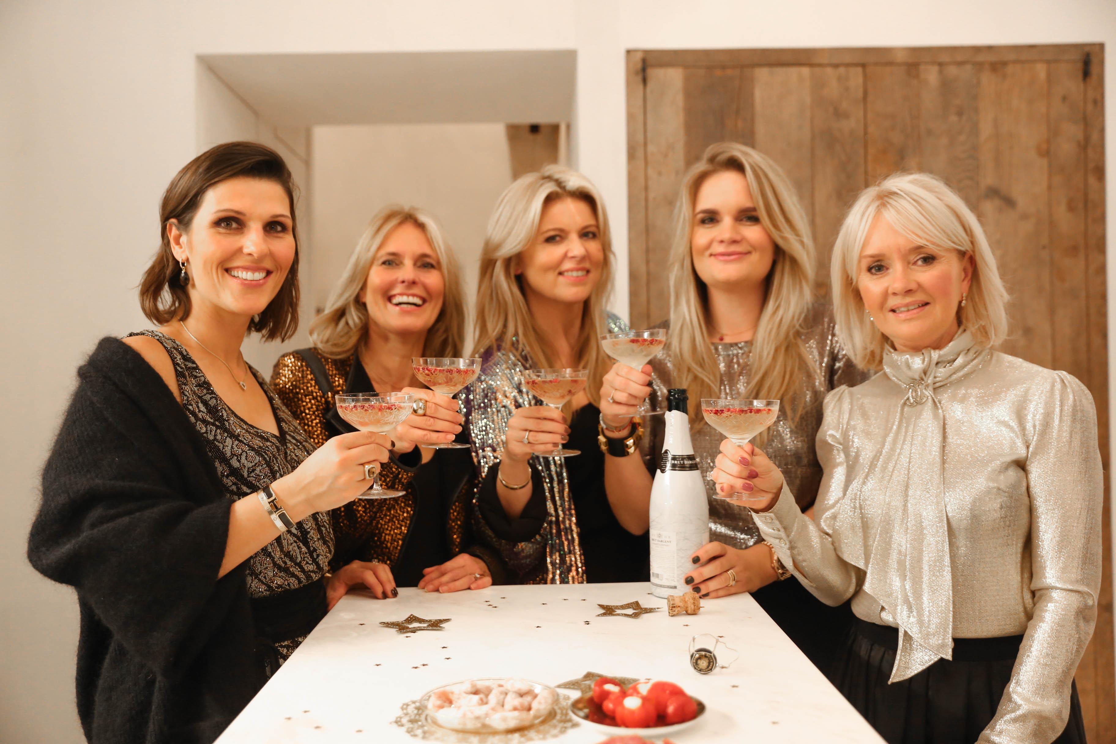 New Year's diner met mijn liefste vriendinnen..