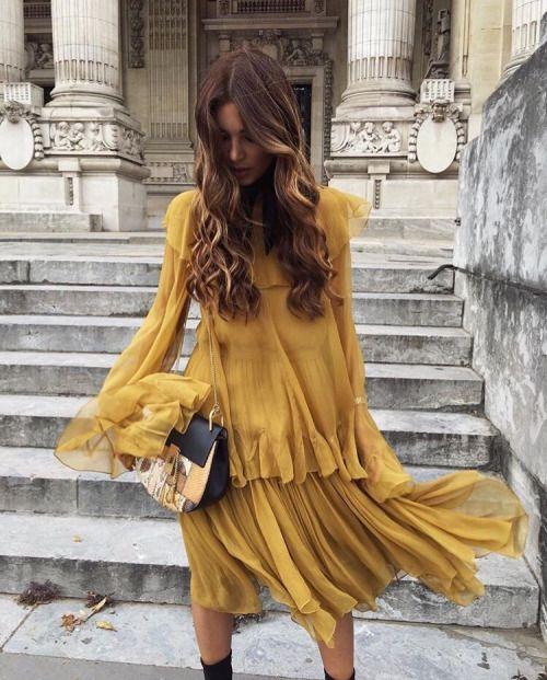 Summer trend: Saffraan geel