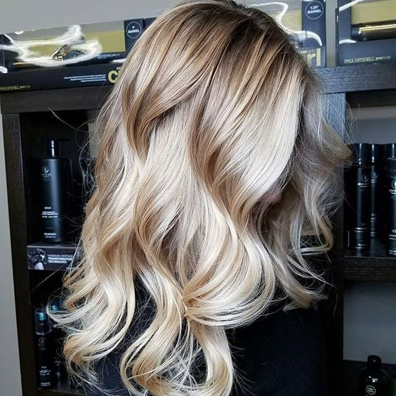 Hair Trend Vanilla Blonde Balayage Stylemyday
