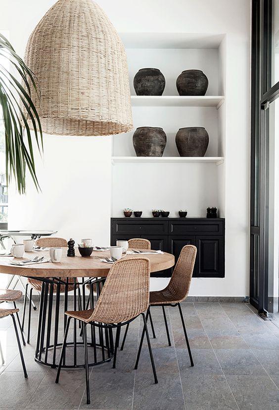 10 x minimalistische interieurs met riet