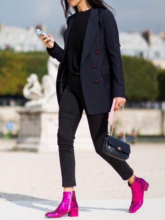 Trend: Glitter boots