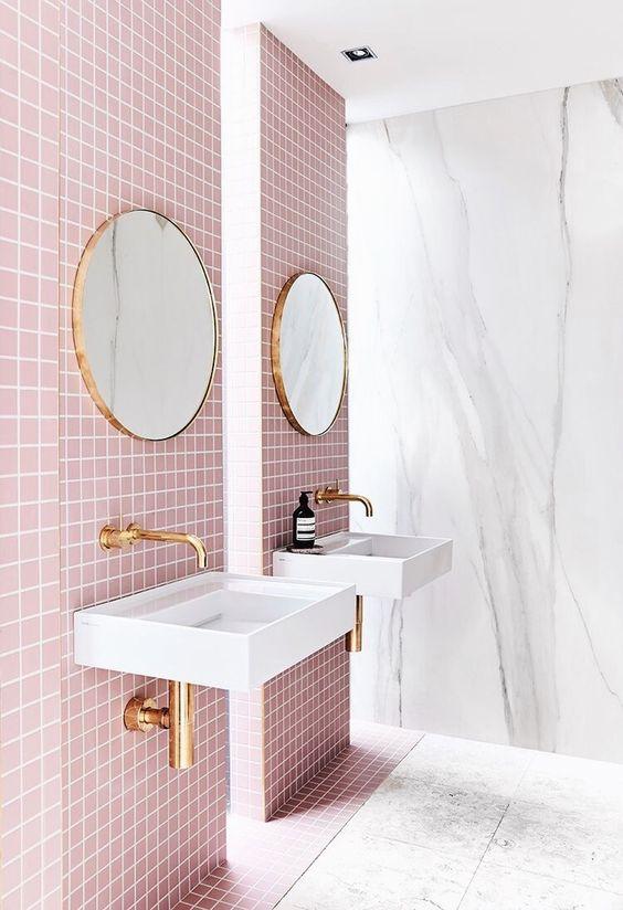Pink bathroom goals