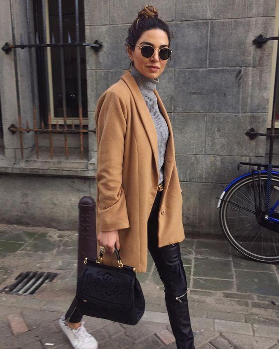 Déze outfit combinatie zie je bij iedere fashionista