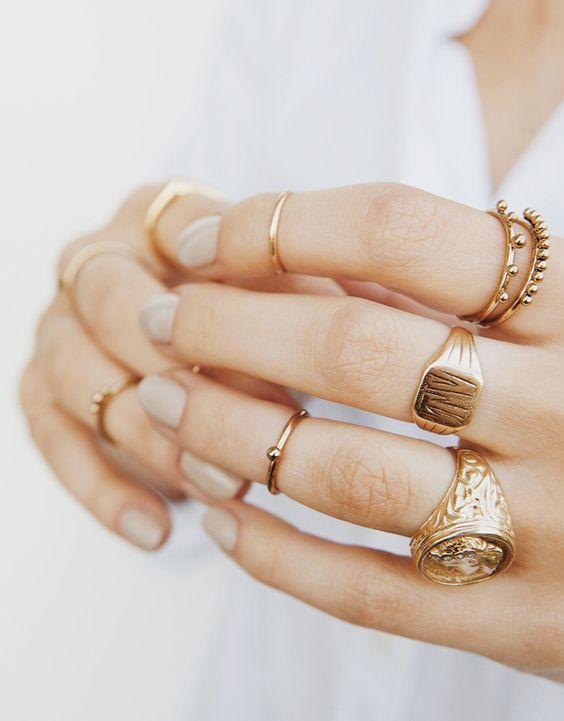 6 x de leukste gouden ringetjes