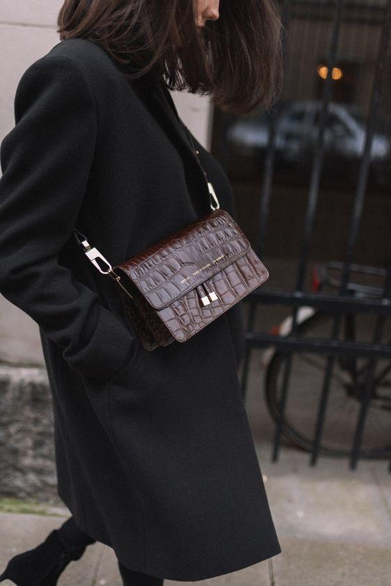 De mooiste zwarte jassen voor de winter!