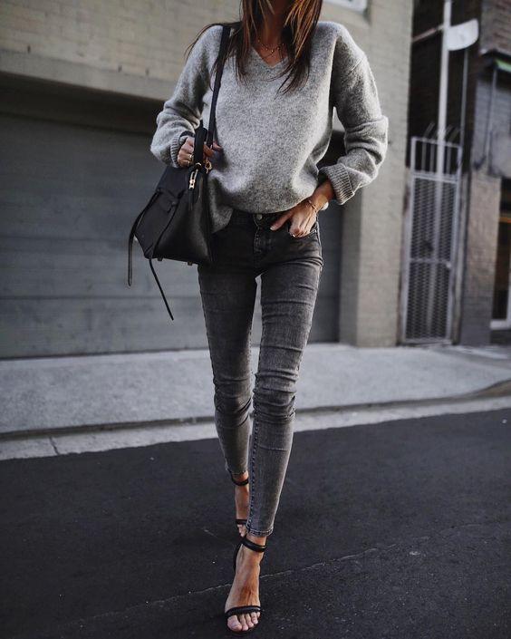 Zó draag je de grijze jeans op z'n best!
