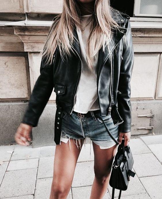 Zó draag jij jouw leren jasje op z'n best! – StyleMyDay