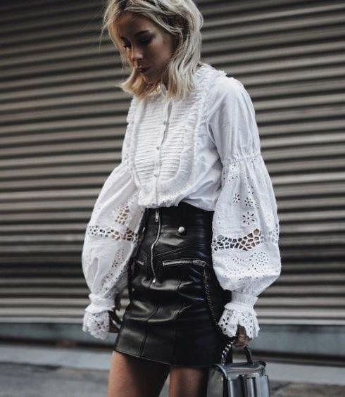 De mooiste witte Sandro blouses met flinke korting!