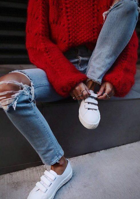 Déze sweater is een grote trend!
