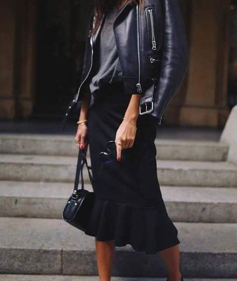 De aller mooiste black midi skirts op een rijtje!