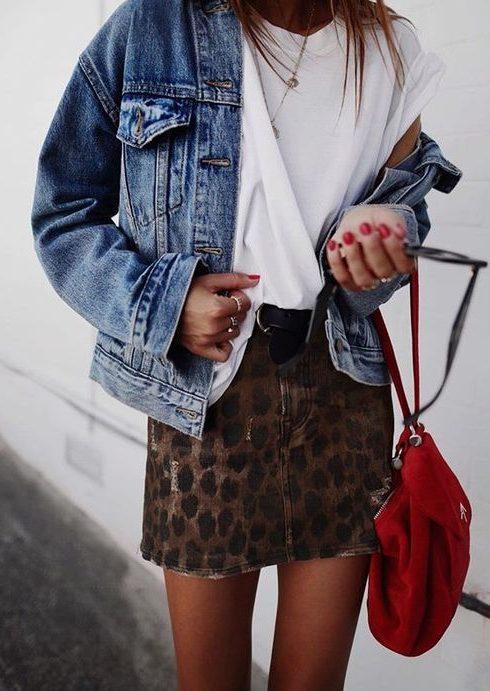 6 x de leukste leopard mini skirts op een rijtje!