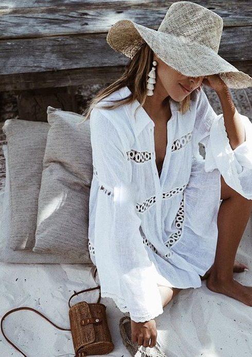 De meest stijlvolle kleding om te dragen op het strand!