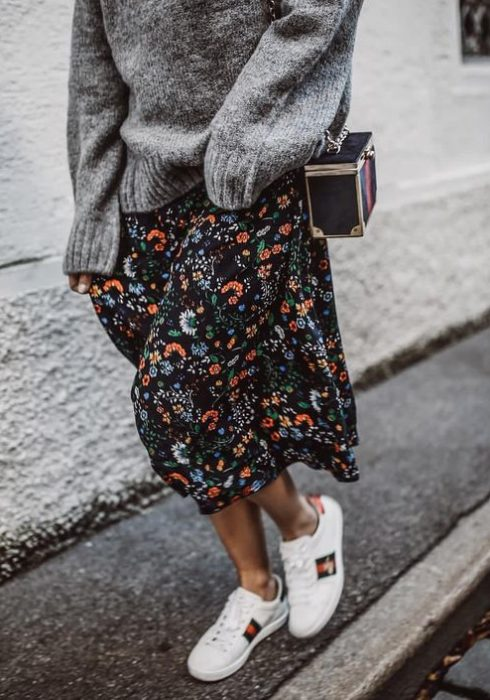 10 X De mooiste floral midi maxi skirts!