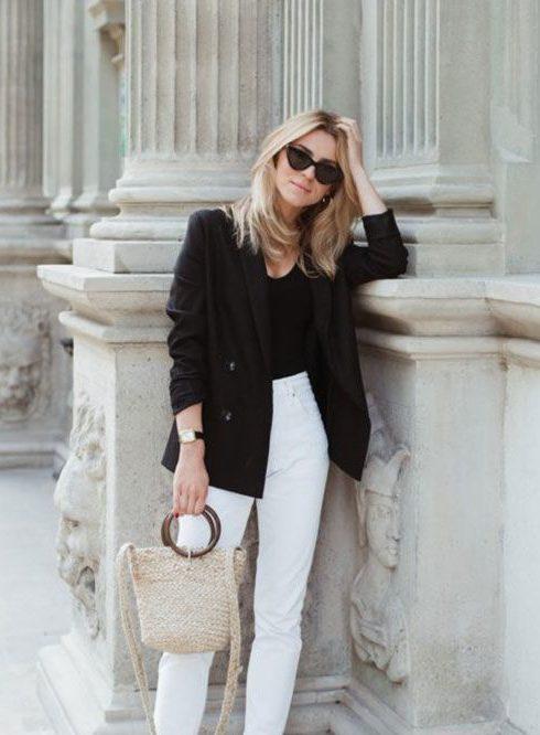 Zó draag je een witte jeans in de winter!