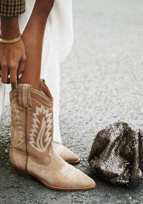 De mooiste suede cowboy boots van dit moment!