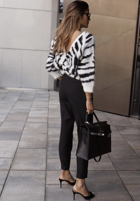 De mooiste zwarte pantalons voor een chique look!