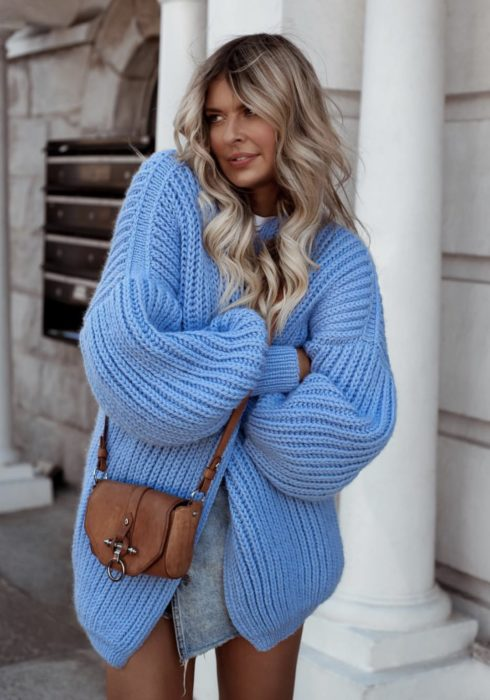 10 X De mooiste blauwe sweaters