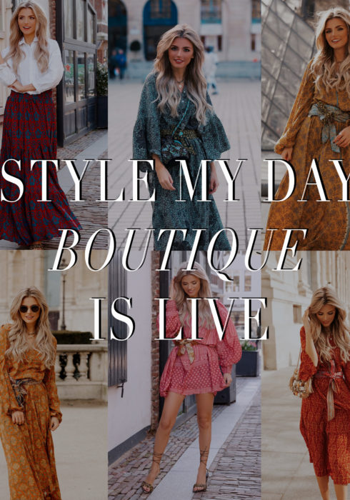 YES! STYLE MY DAY BOUTIQUE IS LIVE!