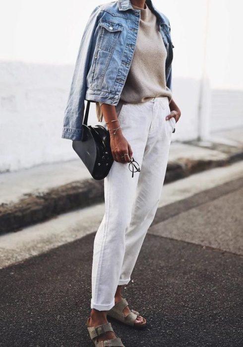 10 X De leukste lente looks met een witte jeans!