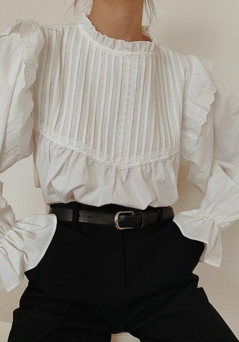 20 X De meest stijlvolle hooggesloten blouses