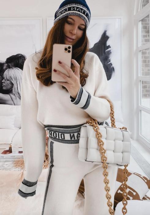 Déze fantastische lougeset van Dior is onze droom!