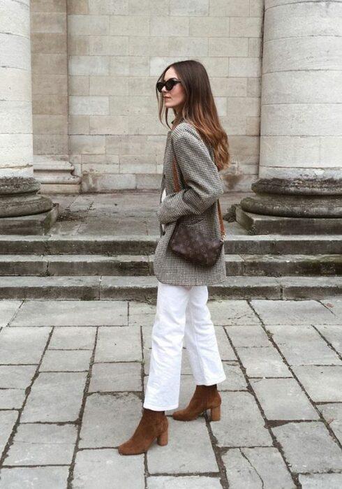 De mooiste winter looks met een witte jeans!