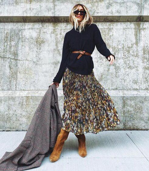 De mooiste maxi rokken voor deze winter!