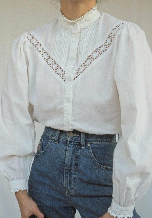 30 X De leukste witte blouses van dit moment!