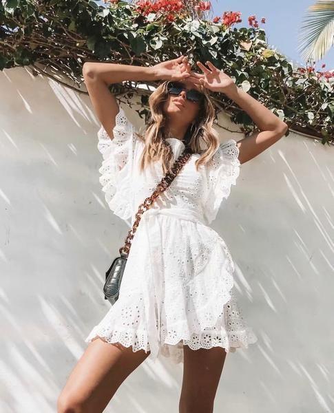 De leukste witte jurkjes voor de zomer!