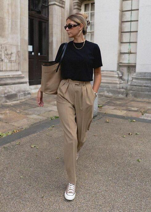 De mooiste beige pantalons voor een stijlvolle look