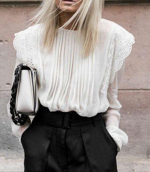 De mooiste witte blouses voor een stijlvolle look!