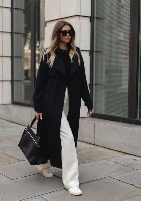 De mooiste zwarte mantel jassen van dit moment!
