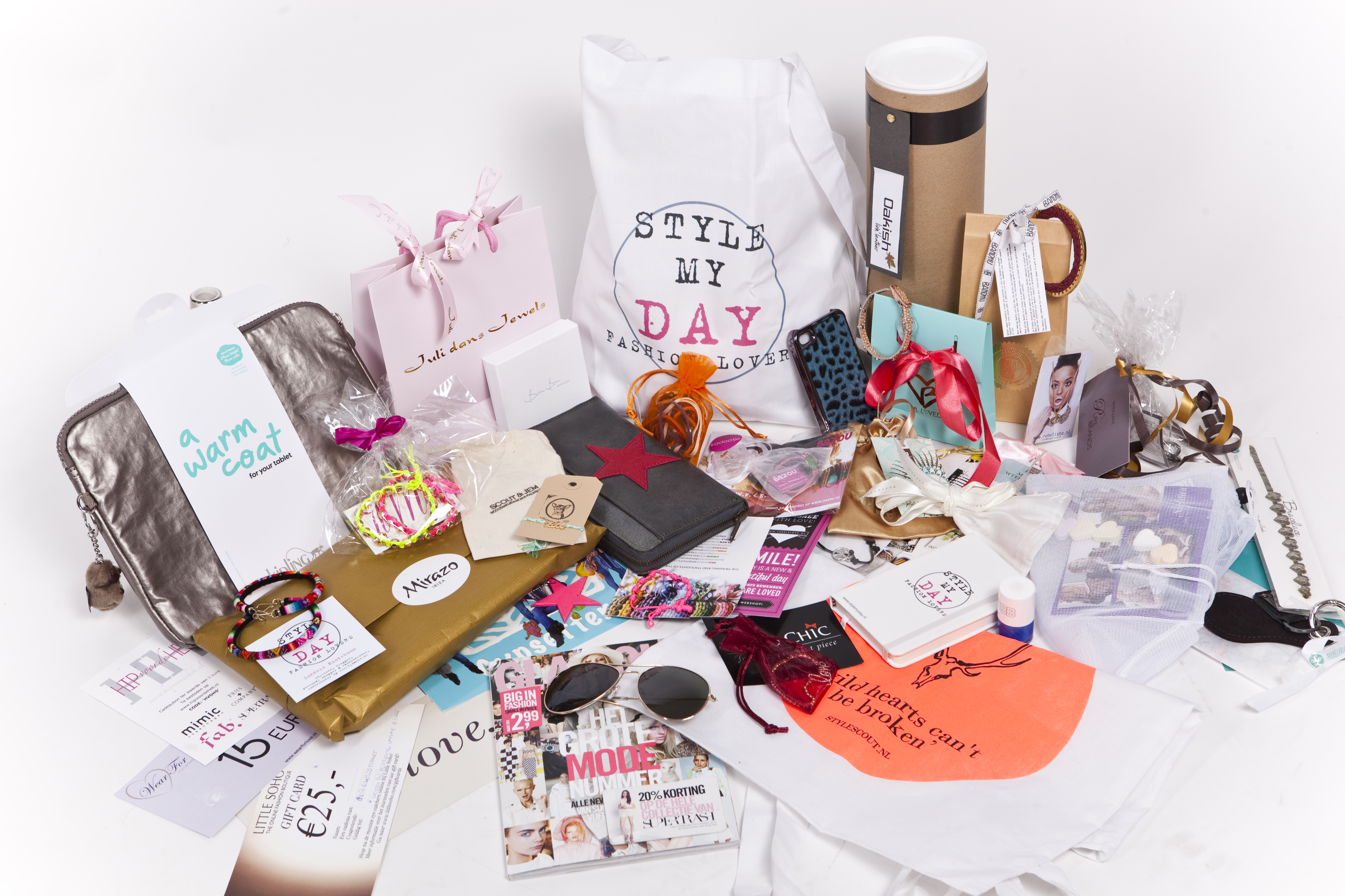 Curious what's in the Style My Day goodie bag?