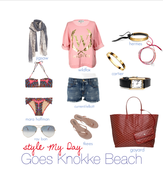 Style My Day goes Knokke Beach