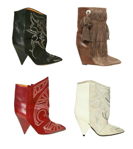 What about deze nieuwe Isabel Marant booties?