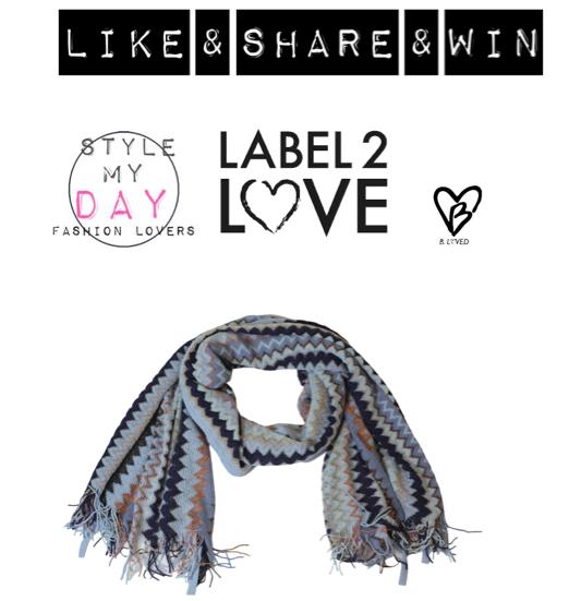 Label 2 Love in de nieuwe Like & Share actie ….