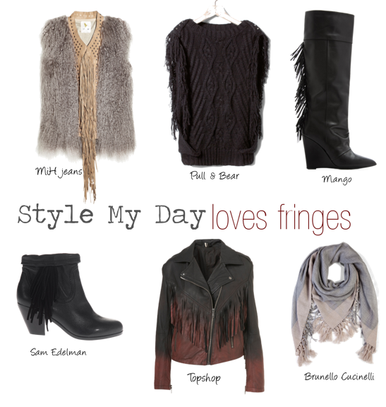 Style my day loves fringes….