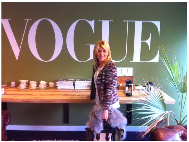 Editor's blog: meeting Glamour, visiting Vogue