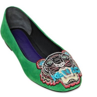 Yesss…I've got them!! This gorgeous Kenzo Tiger ballet-flats